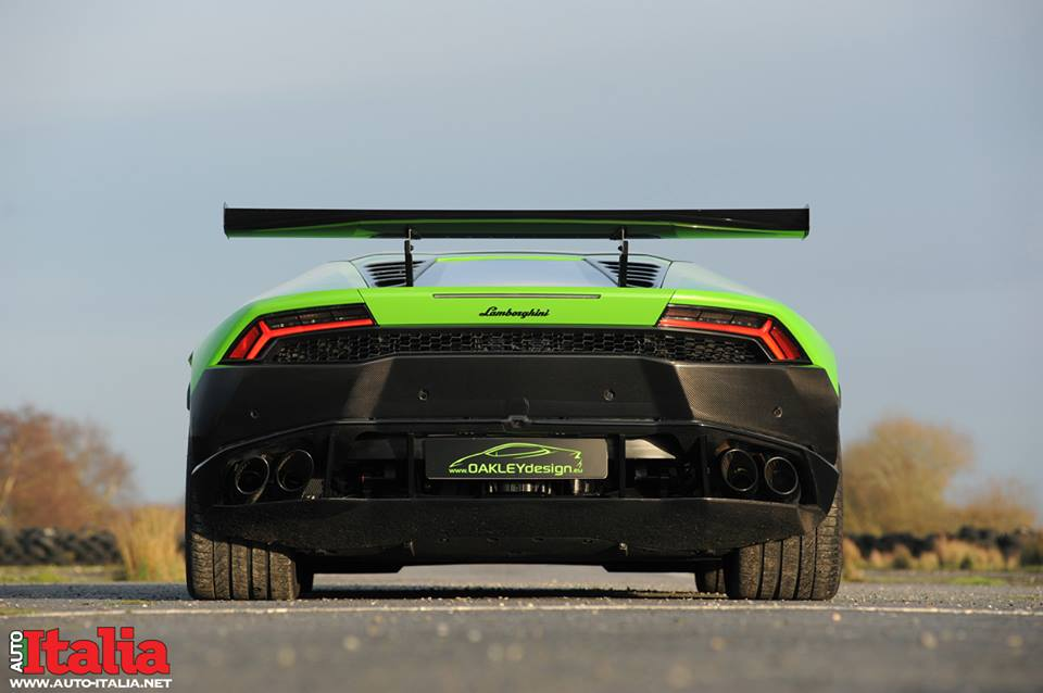 Lamborghini Huracan. Тюнинг Oakley Design