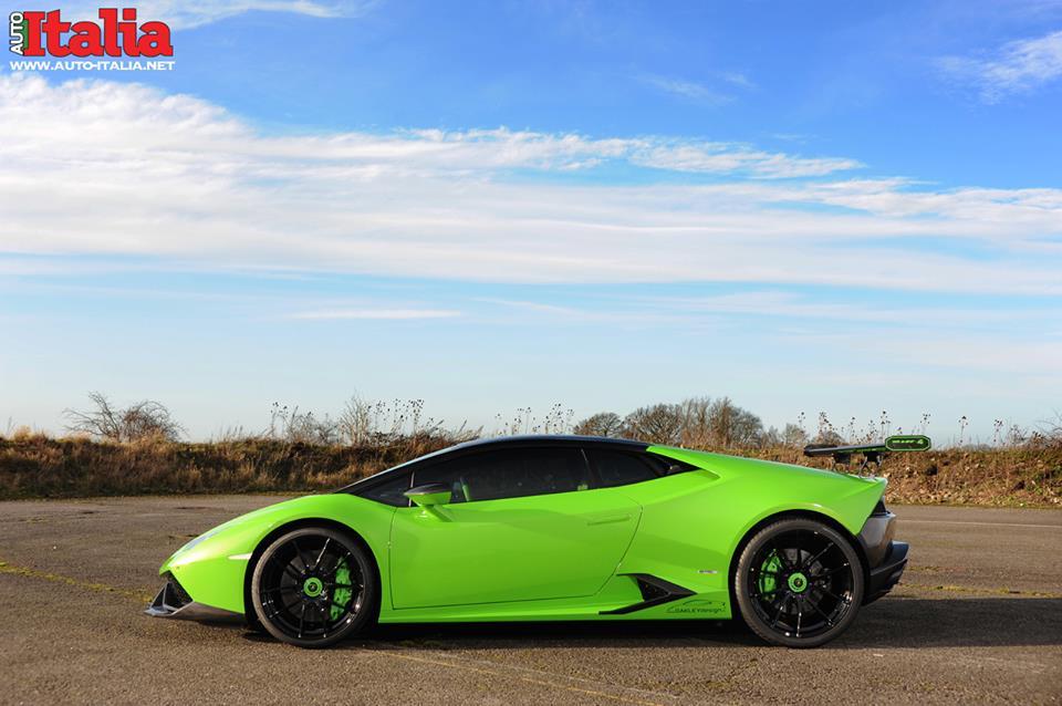 Lamborghini Huracan от Oakley Design