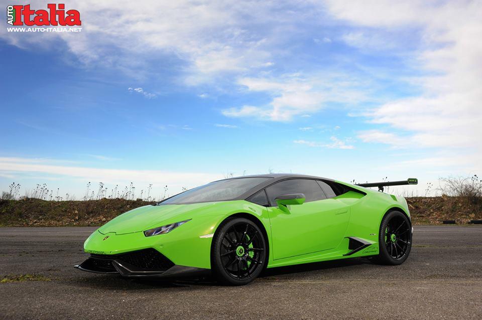 Новая Lamborghini Huracan от Oakley Design