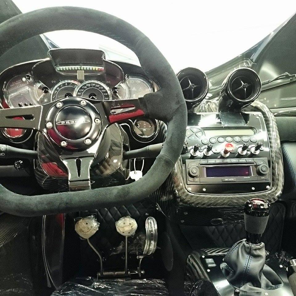 Pagani Zonda 760 Roadster Spotted at Topaz - Motorward