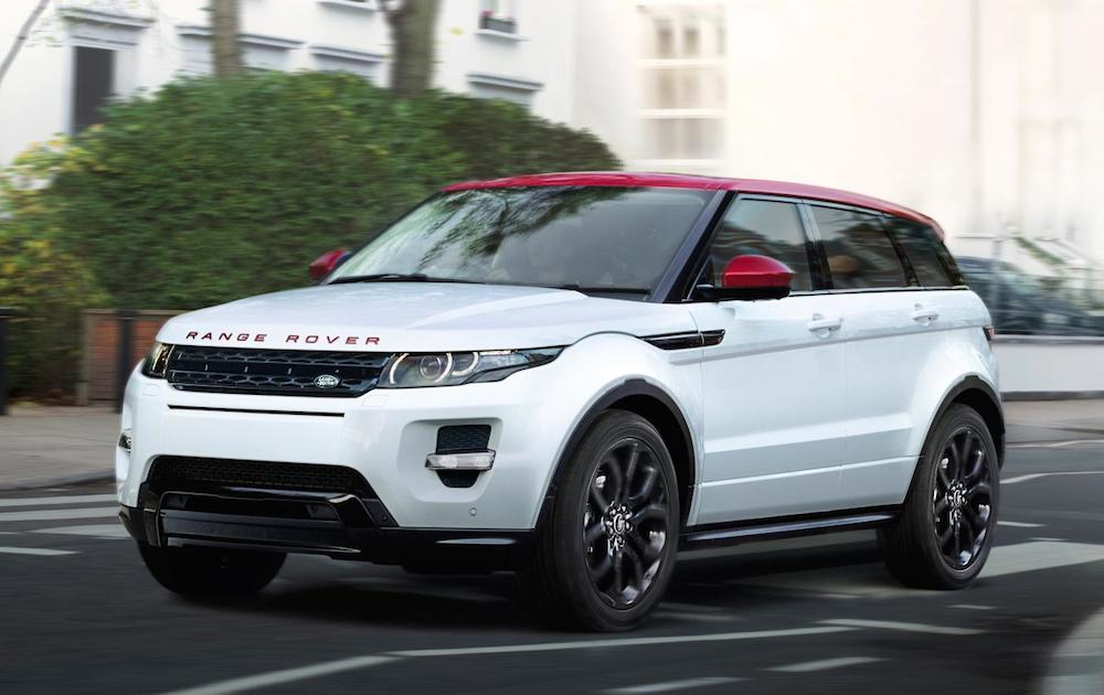 Range Rover Evoque Nw8 Unveiled