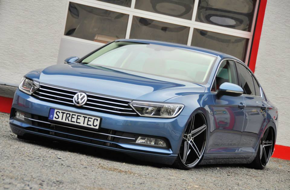 tuningcars vw passat b8 slammed on oxigin wheels. Black Bedroom Furniture Sets. Home Design Ideas