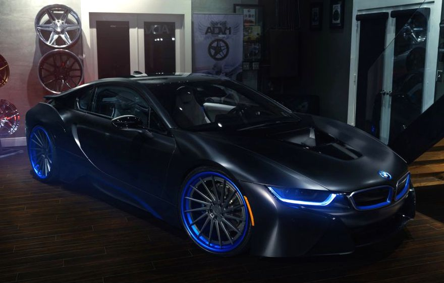 Tuningcars Bmw I8 On Custom Adv1 Wheels