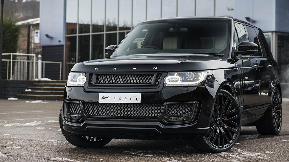 range rover autobiography 600 le by kahn design. Black Bedroom Furniture Sets. Home Design Ideas