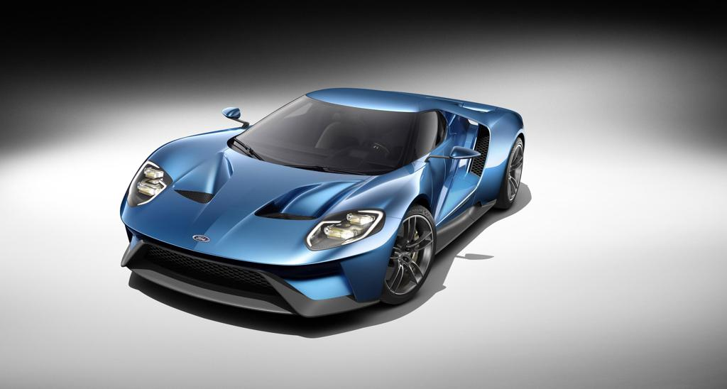 Up Close And Personal With The New Ford Gt