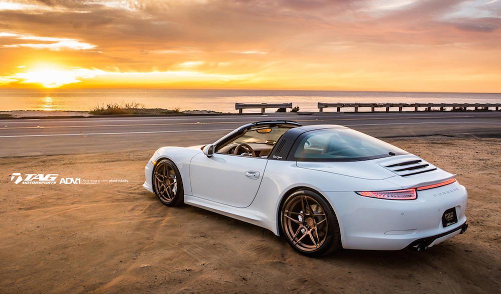 Tuningcars Tag Motorsport Porsche 911 Targa Beach Photoshoot