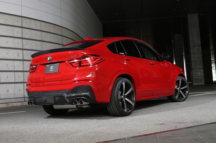 Official 3d Design Bmw X4 M Sport