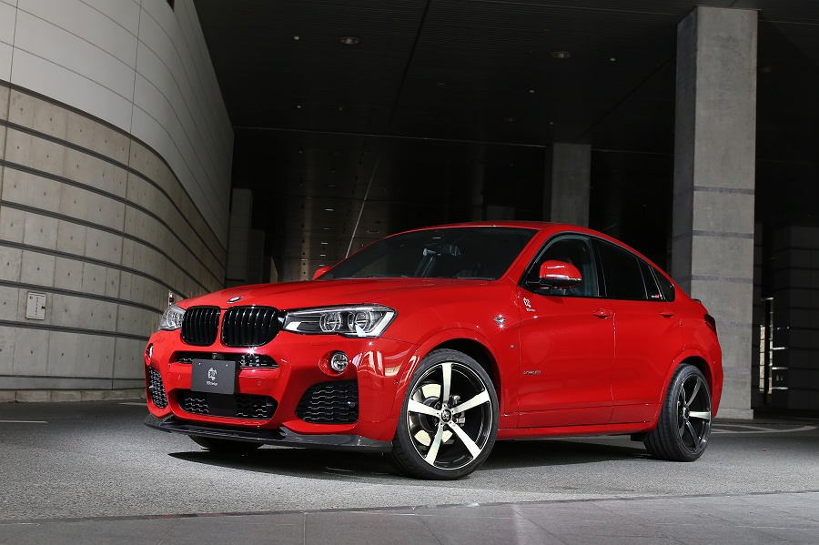 official 3d design bmw x4 m sport. Black Bedroom Furniture Sets. Home Design Ideas