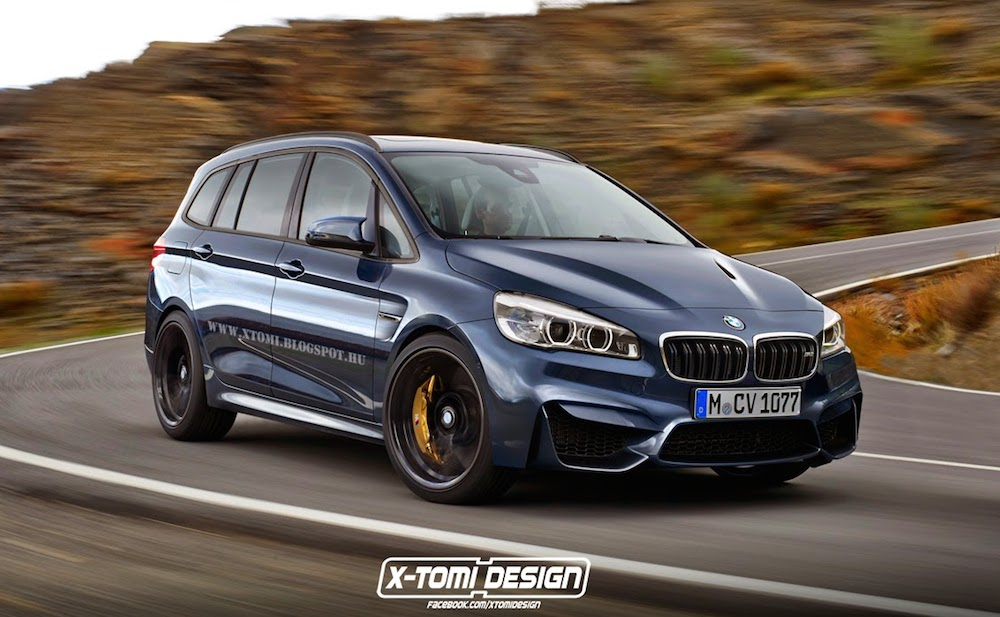 rendering bmw m2 gran tourer. Black Bedroom Furniture Sets. Home Design Ideas