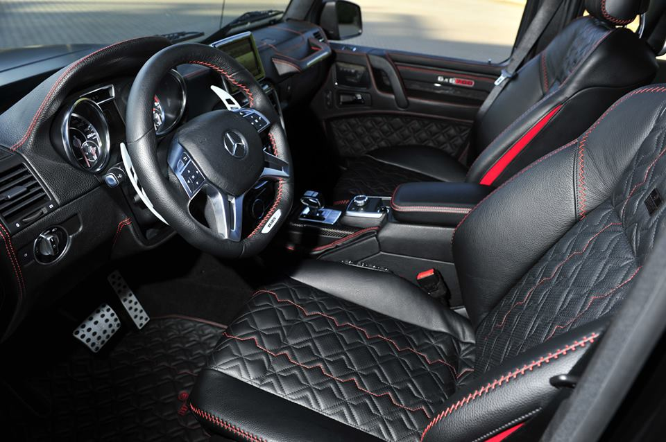 Exclusive Interior Package For Brabus 6x6 700