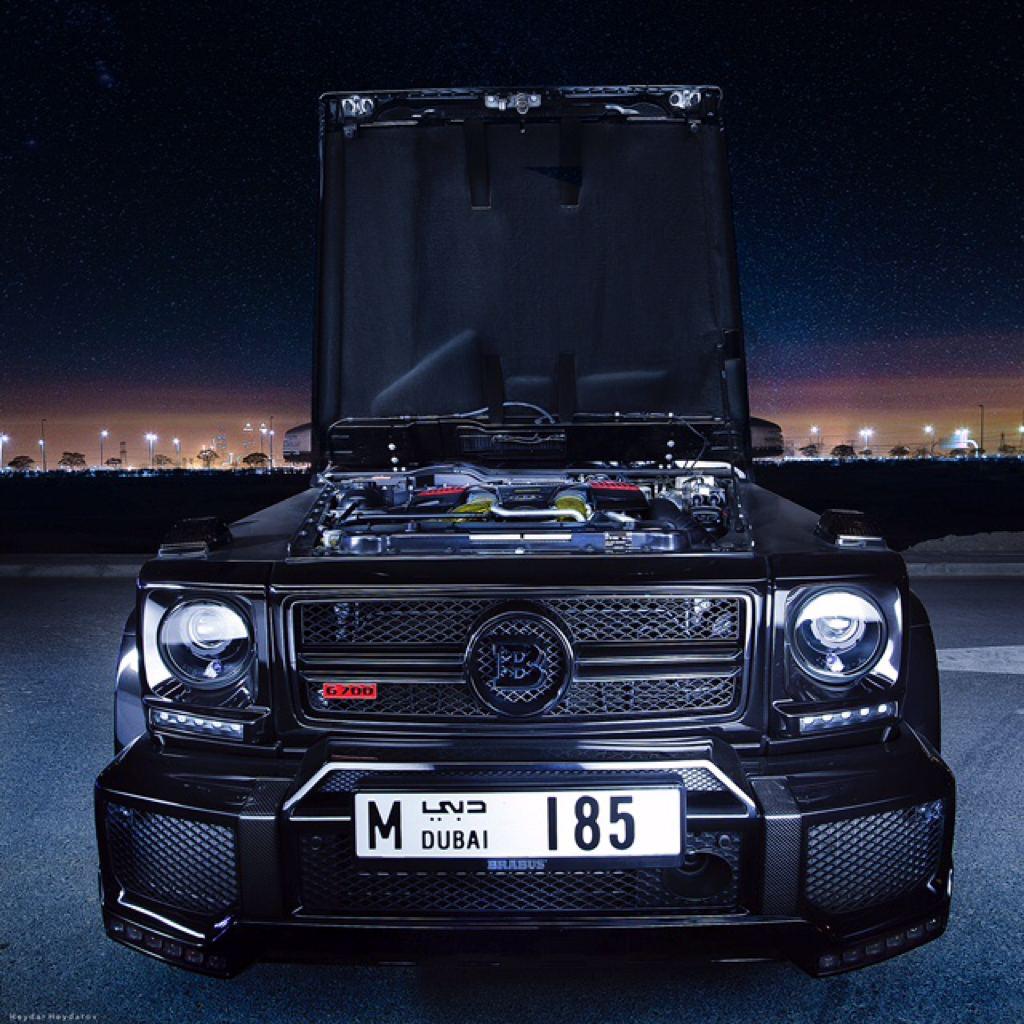 Spotlight: Brabus G700 In Dubai