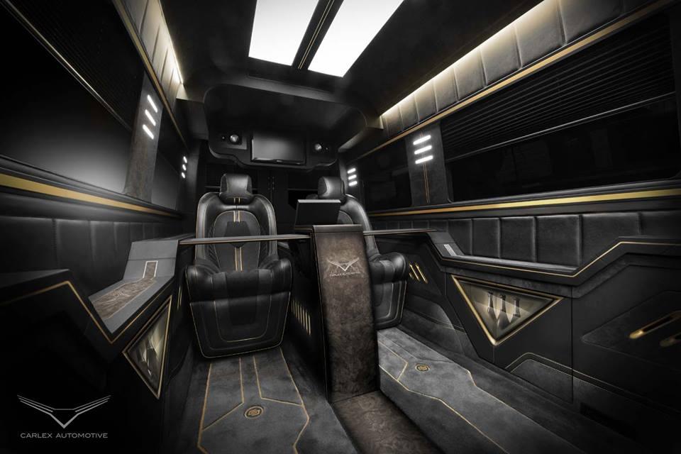 Preview carlex design mercedes sprinter interior - Mercedes sprinter interior light ...