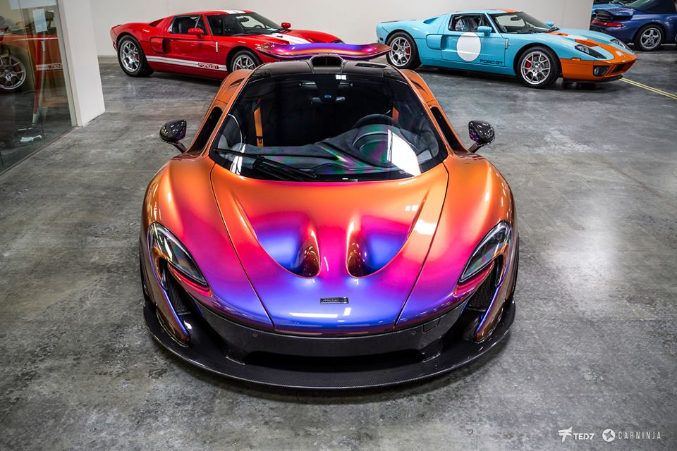 Up Close With The Cerberus Pearl Mclaren P1
