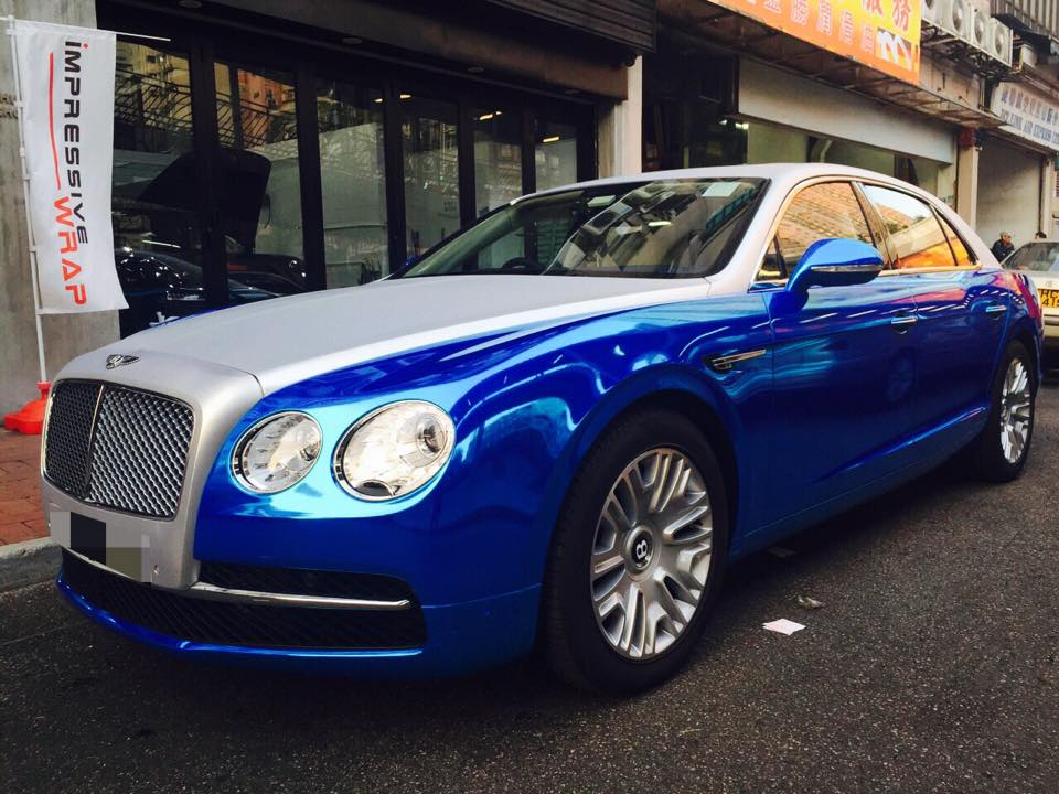 2015 Bentley Flying Spur Blue | 200+ Interior and Exterior ...
