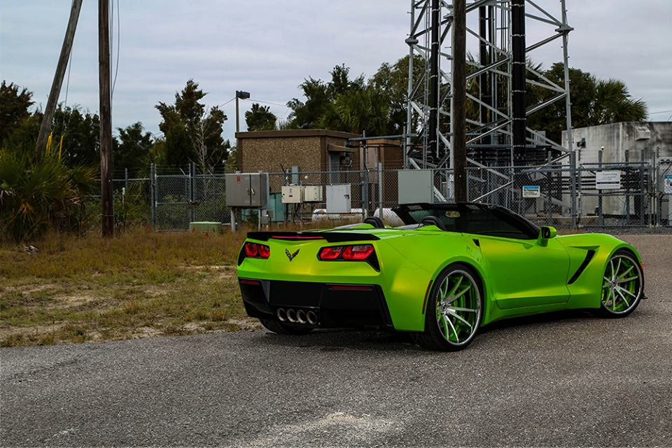 Custom Corvette C7 By Forgiato Wheels