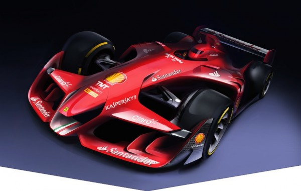 Ferrari Design Formula 1 Concept 1 600x380 at Formula 1 Cars of the Future May Look Awesome!