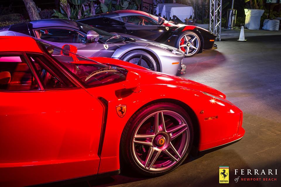 mega gallery ferrari newport beach client appreciation 2015. Cars Review. Best American Auto & Cars Review