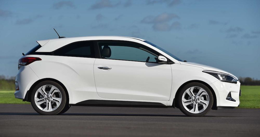 hyundai i20 coupe priced from 12 725. Black Bedroom Furniture Sets. Home Design Ideas