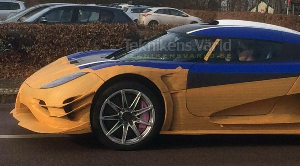 Koenigsegg regera prototype scooped motorward