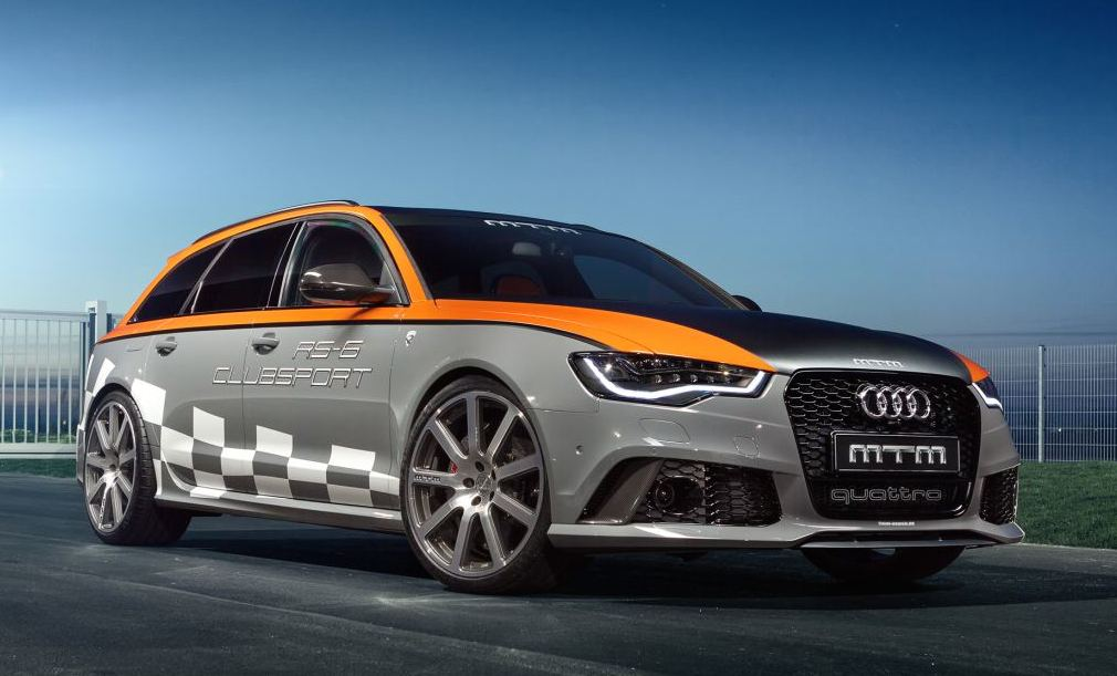 Mtm Audi Rs6 Clubsport Coming To Gms