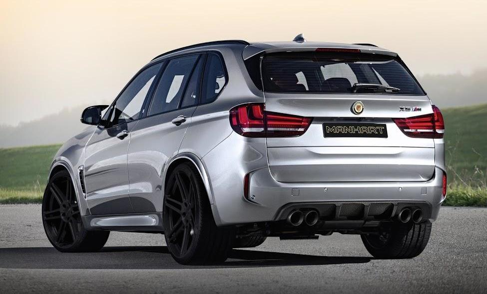 Manhart BMW X5M Revealed with 750hp