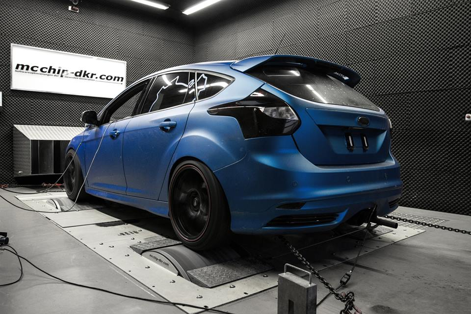 Mcchip-DKR Ford Focus ST with 343 PS!