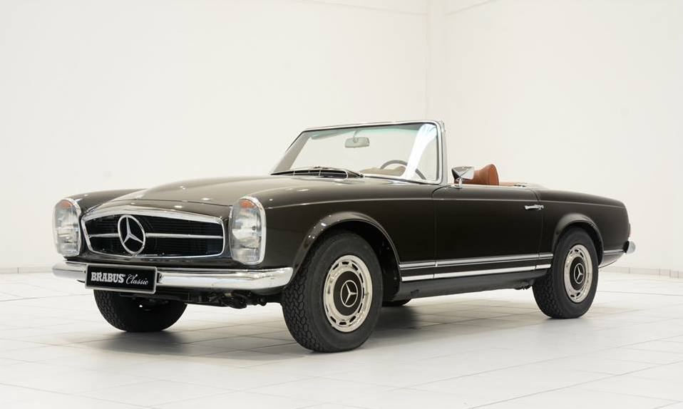 Gallery Mercedes 280 Sl Pagoda By Brabus