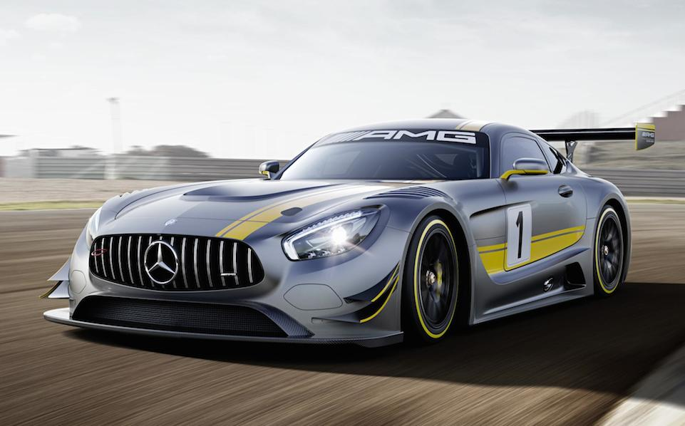 Mercedes amg gt3 revealed with 6 2l v8 for Mercedes benz amg 6 3 liter v8 price