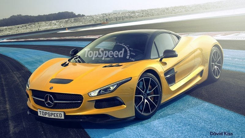 Speculative rendering mercedes amg hypercar for New mercedes benz supercar