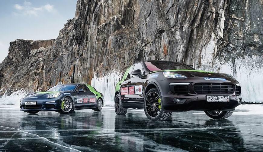 Porsche Panamera S E-Hybrid и Porsche Cayenne S E-Hybrid