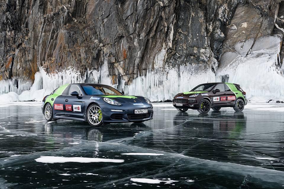 Приключение Porsche Hybrid