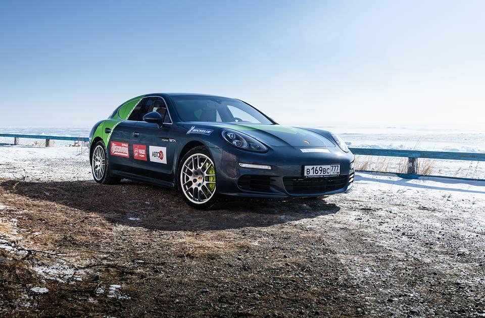 Испытание Porsche Hybrid
