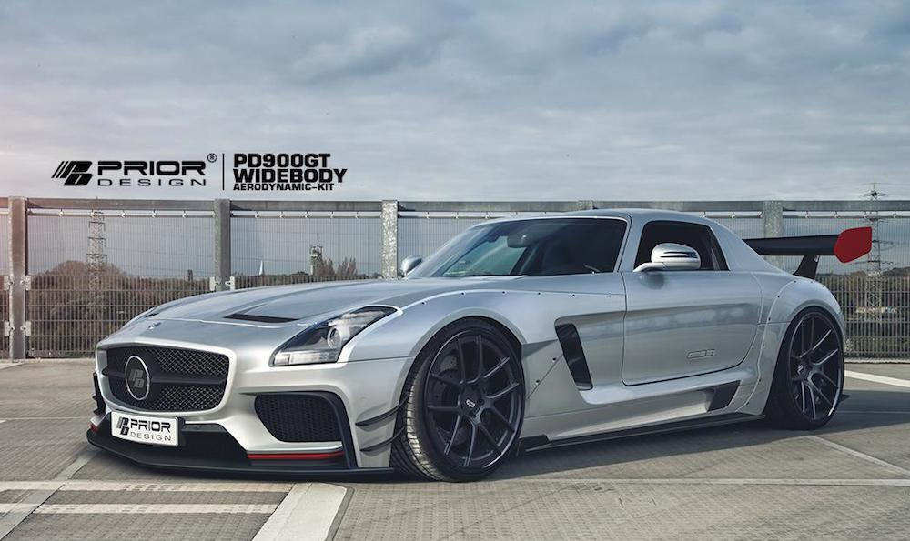 Prior design mercedes sls wide body kit for Mercedes benz amg kit