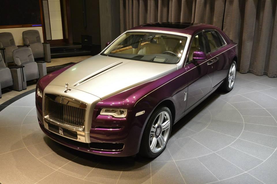 Gallery Purple Rolls Royce Ghost Series Ii