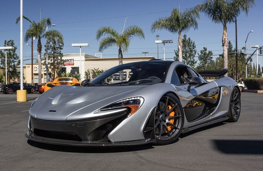 Mclaren P1 Orange >> Up Close with Supernova Silver McLaren P1