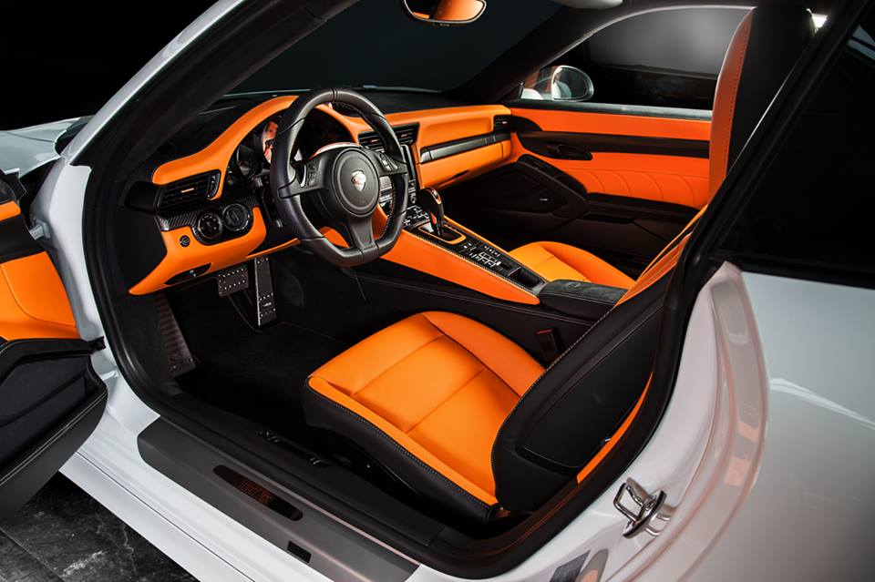 techart shows off exclusive porsche 991 interior package. Black Bedroom Furniture Sets. Home Design Ideas