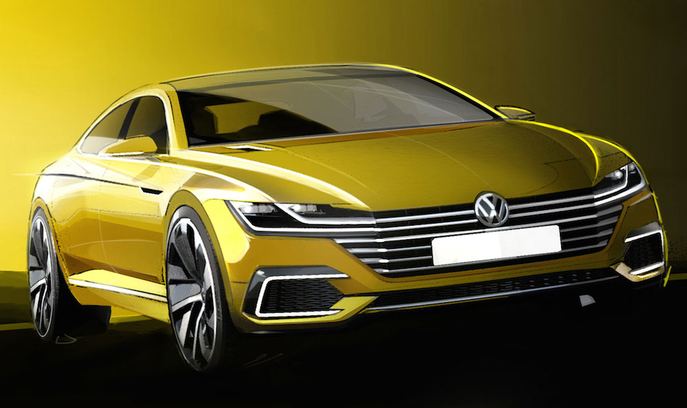 geneva preview vw passat cc concept. Black Bedroom Furniture Sets. Home Design Ideas