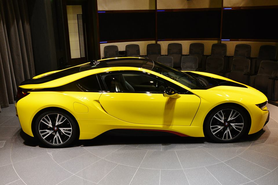 BMW I8 Top Speed >> Yellow BMW i8 Shows Up in Abu Dhabi