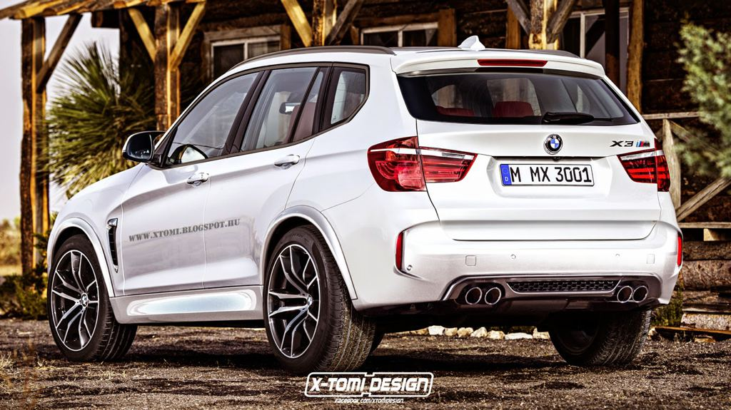 Rendering: BMW X3 M Could Happen