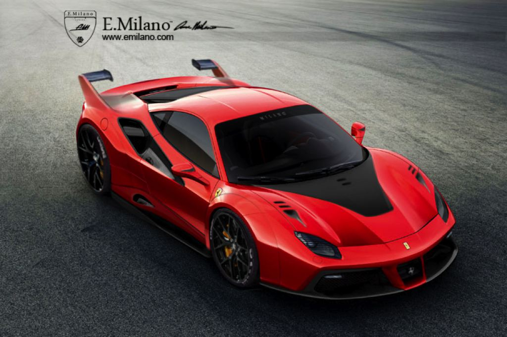 Ferrari 488 FXX Rendered for Fun