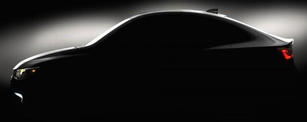 2016 Chevrolet Malibu 001 600x240 at 2016 Chevrolet Malibu Teased for NY Auto Show