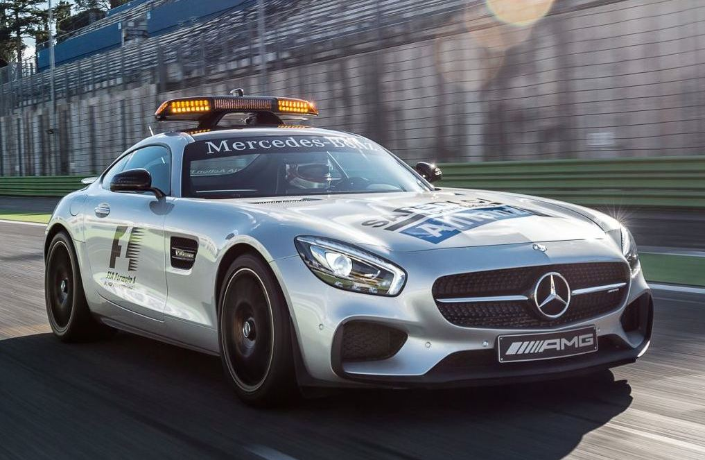 Official mercedes amg gt f1 safety car for Mercedes benz f1 car