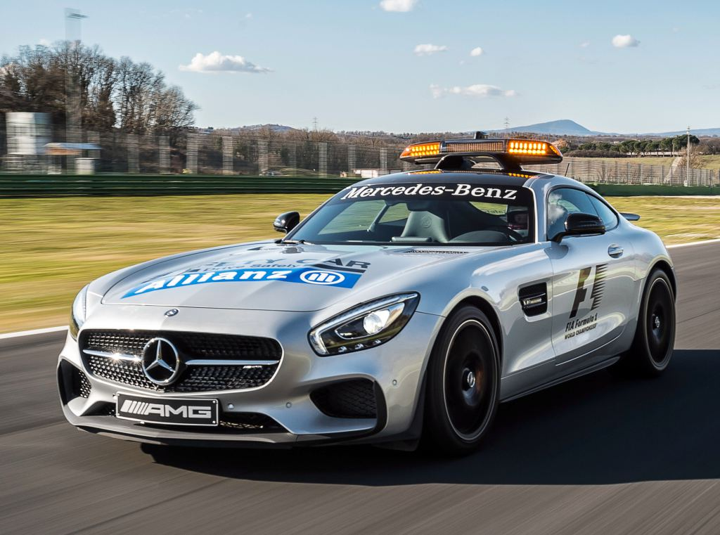 Official mercedes amg gt f1 safety car for Mercedes benz f1