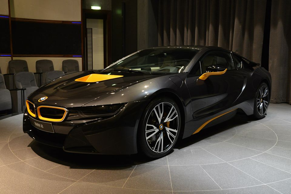Abu Dhabi Gets Another Bmw I8 Individual