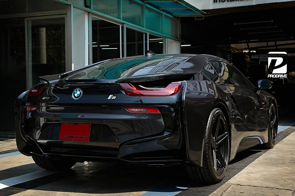 Tuningcars Black On Black Bmw I8 By Prodrive