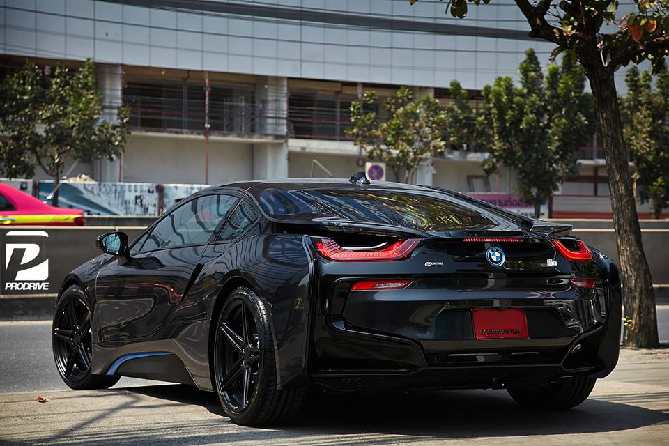 black on black bmw i8 by prodrive. Black Bedroom Furniture Sets. Home Design Ideas