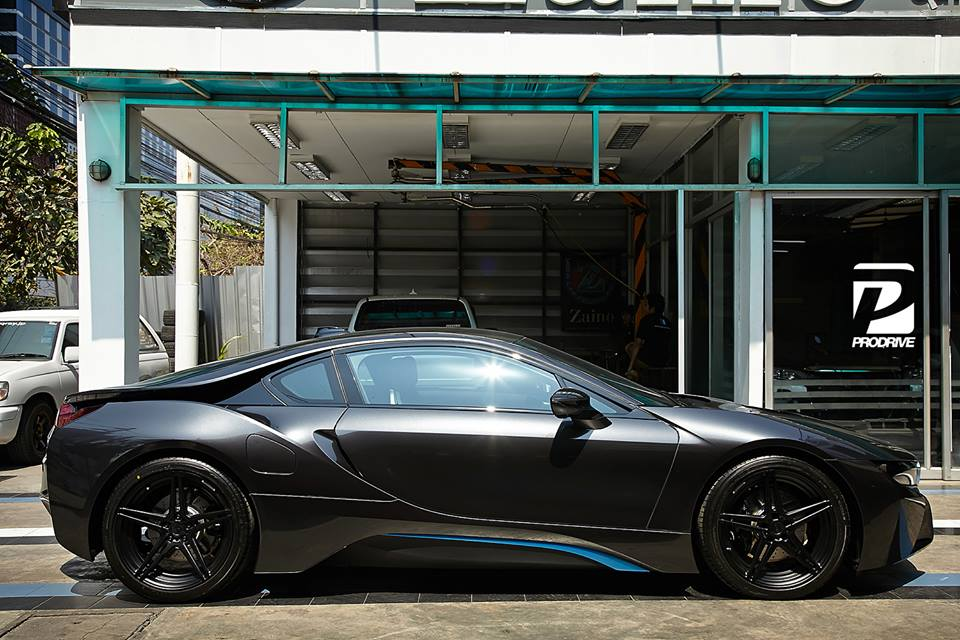 BMW I8 0 60 >> Black on Black BMW i8 by Prodrive