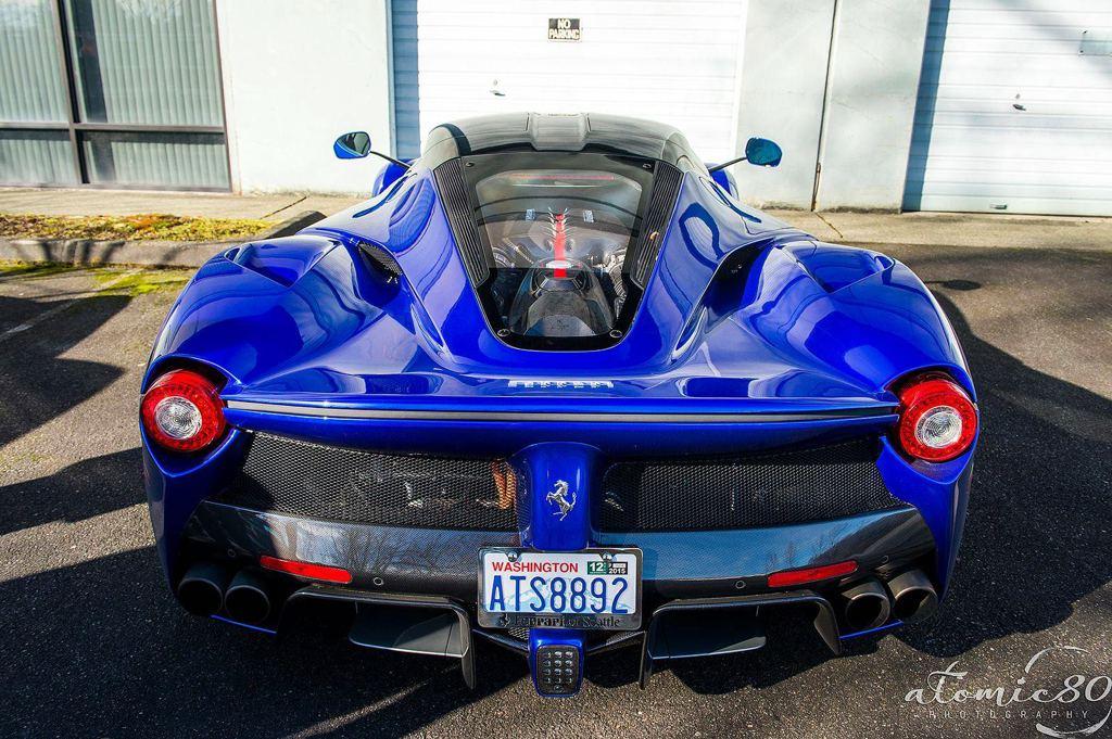 Unique Blue LaFerrari Spotted in Washington