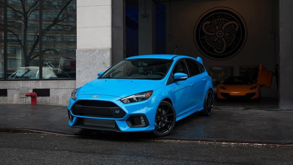 2016 Ford Focus Rs Spotted In New York
