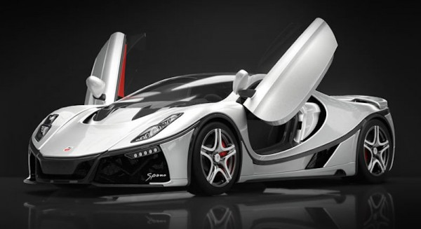 GTA Spano Geneva 0 600x327 at Geneva 2015: GTA Spano